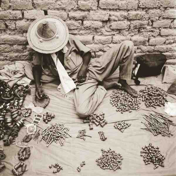 Sleeping Peul Tribesman